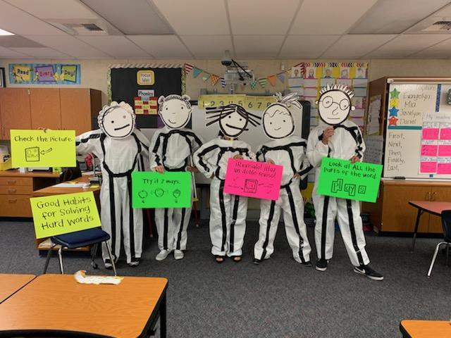 Dressed Up As A First Grade Reading Workshop Anchor Chart