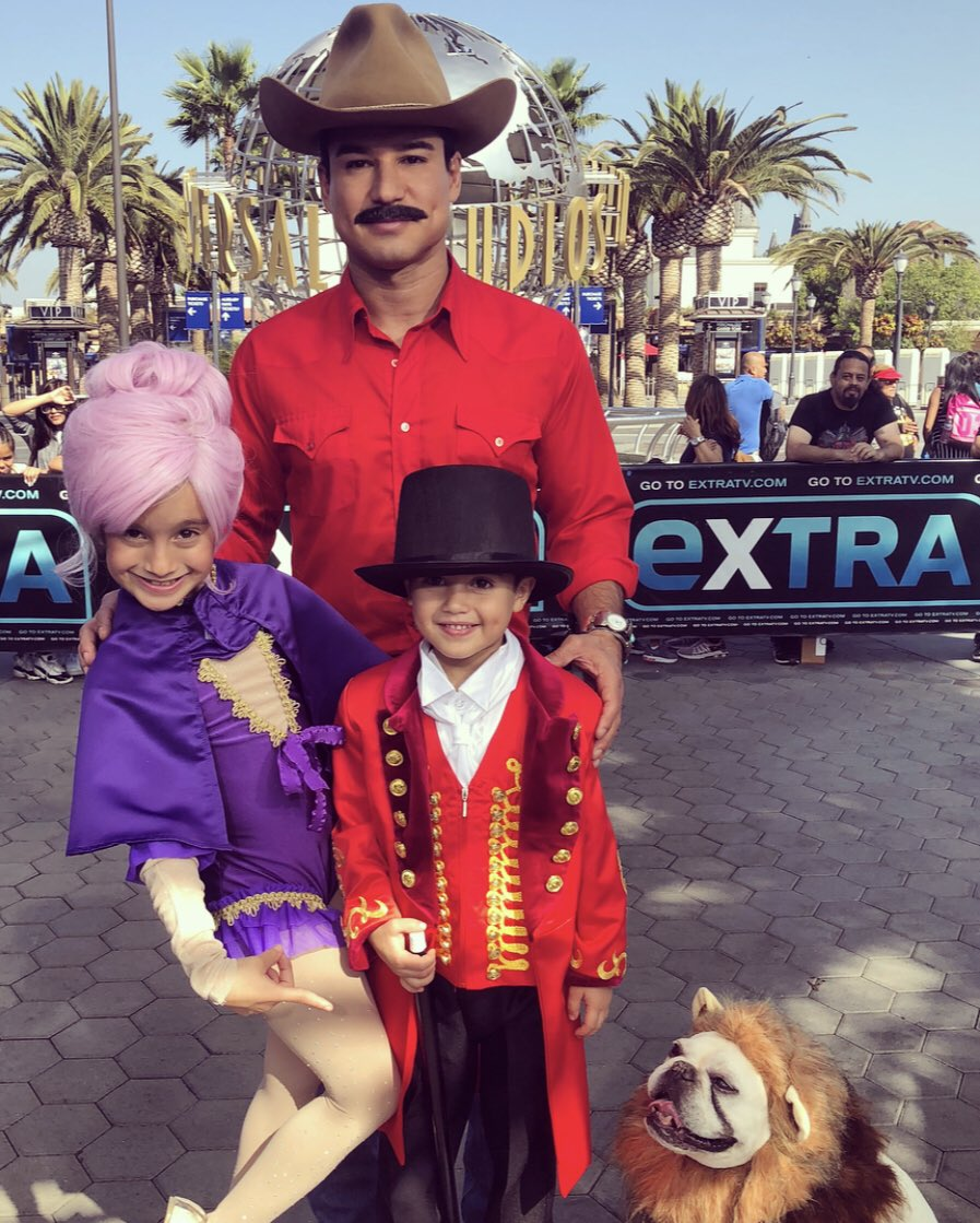 Mario Lopez On Twitter Bandit And The Greatest Showman