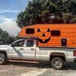 Image for the Tweet beginning: Happy Halloween! #Halloween #capricamper #roadtrip #capricamperadventures
