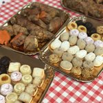 Image for the Tweet beginning: #uzlife Panellets & Sweet Potatoes