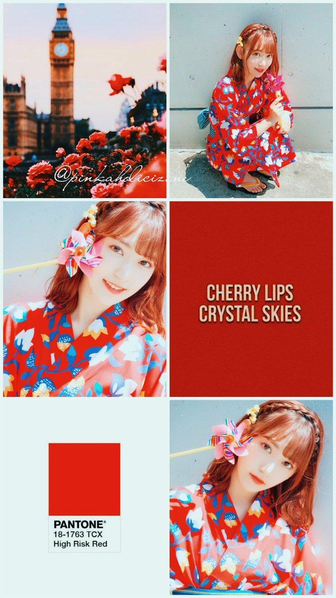Miyawaki Sakura Red Theme Wallpaper You Are Free To Use My Posted