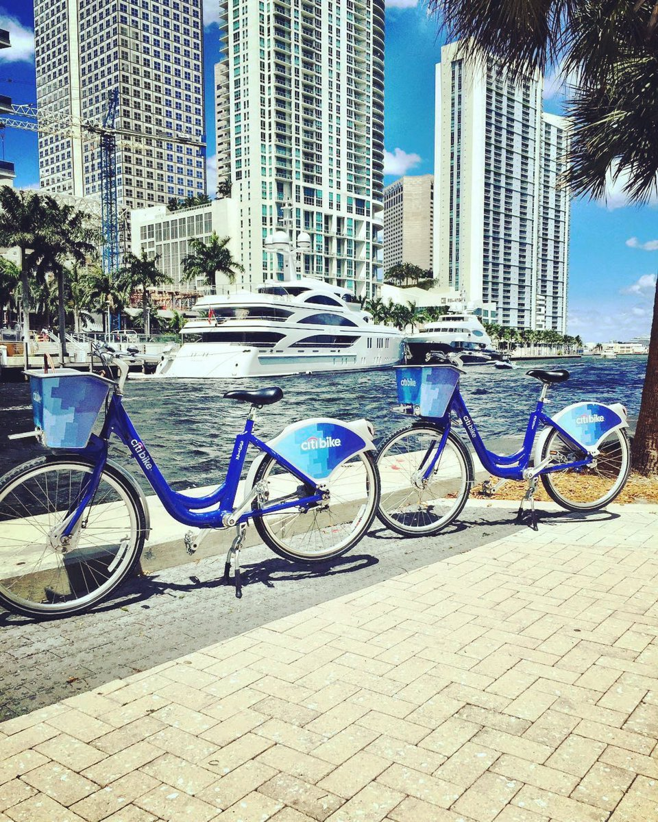 Citi Bike Miami >> Citi Bike Miami On Twitter What A View Thank You Getoutandeat