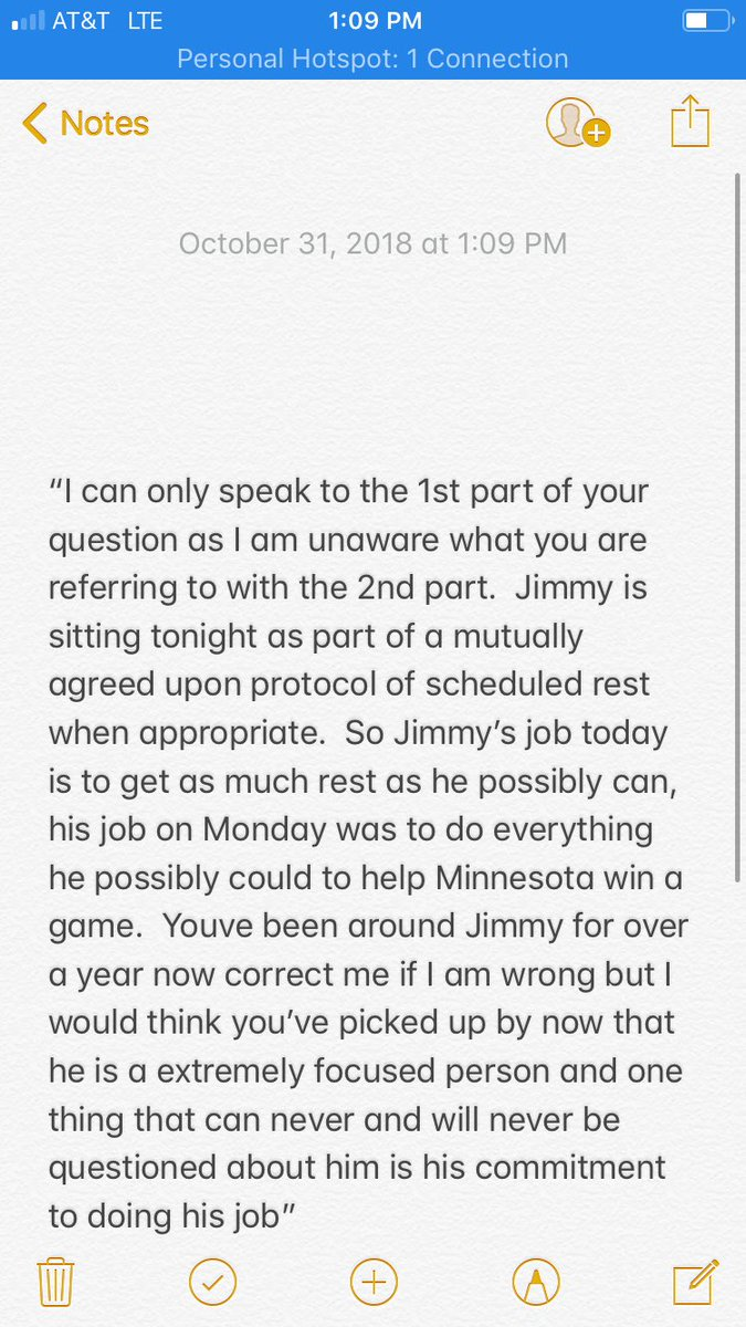 Jace Frederick On Twitter Got A Couple Comments From Jimmy Butler S Agent Bernie Lee On This Morning S Developments First I Asked If Butler Sitting Out Today Is Part Of A Push To