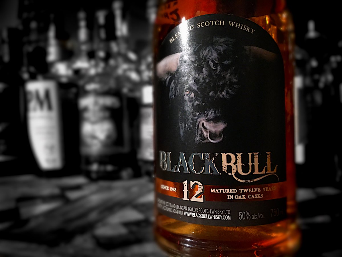 Black cat is one thing.  What's the Hallowe'en protocol when a Black Bull crosses your path? #dramwhiskyguy #whiskytasting #scotch #blendedscotch @BlackBullWhisky #whisky<br>http://pic.twitter.com/2ZdPtlRdPo