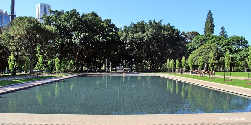 Pool of Reflection, Hyde Park