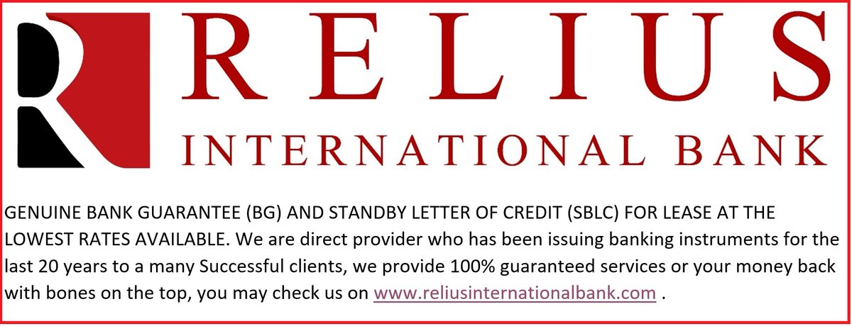 Relius International Bank (@reliusbank) | Twitter