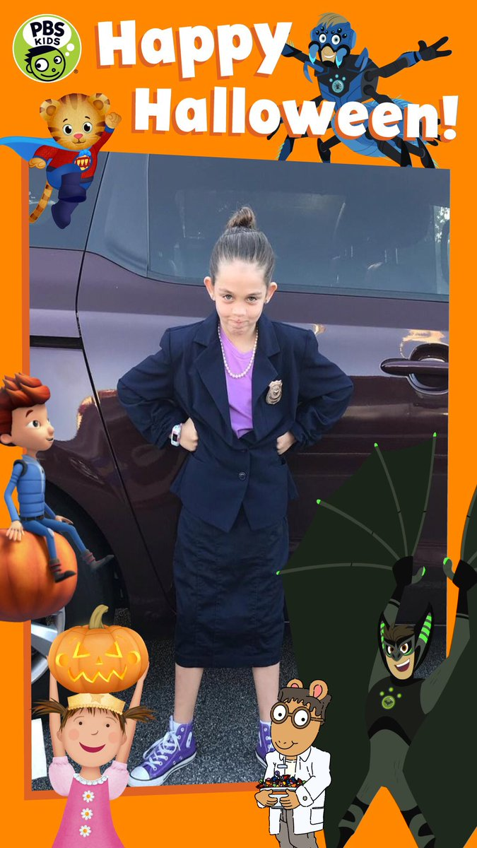 """pbs kids on twitter: """"happy halloween from pbs kids! share your pbs"""