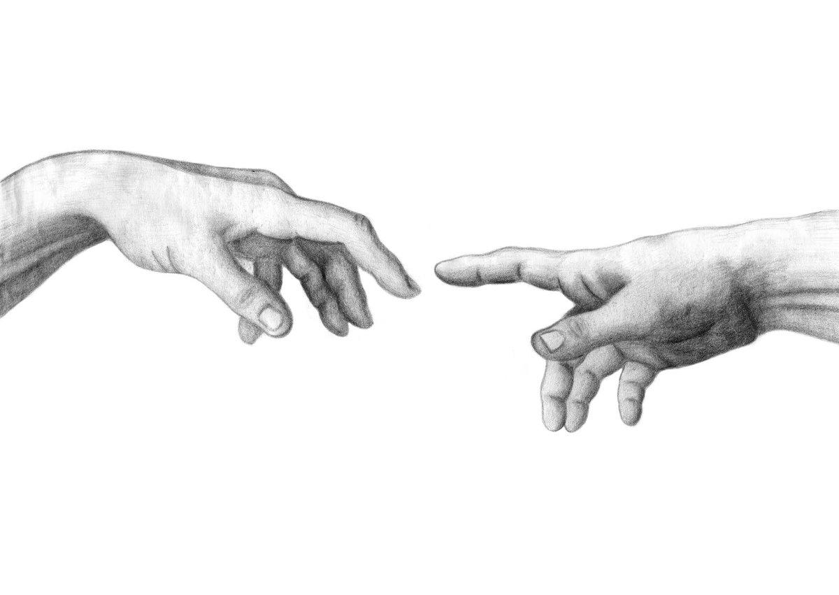 creative hand drawings - HD1600×1135