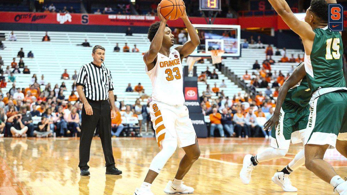 Orange rolls to 89-52 win against LeMoyne in final tune-up (full coverage)