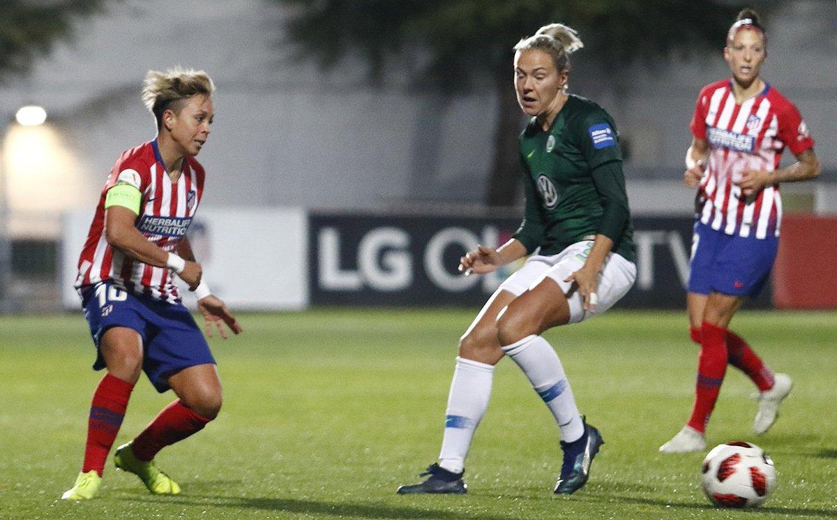 Amanda, en el duelo ante el Wolfsburgo (Foto: ATM).