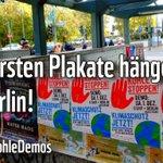 Jippieh! 🍾 Die ersten #Klima-#Kohle-Demo-Plakate hängen! Und wenn ihr auch Poster und Flyer haben (und verteilen!) wollt: Wir haben in #Berlin mehrere Abholstationen >>> https://t.co/XjQqtMT0rs #KlimaKohleDemos #kohlefrei