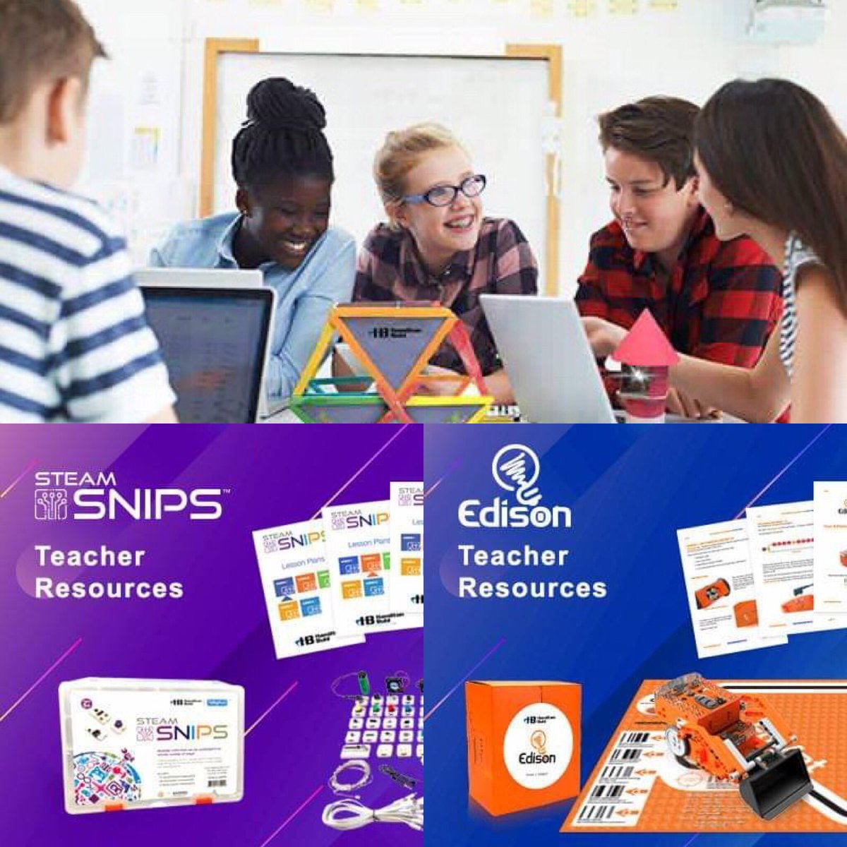 Feel confident introducing new #STEAM #learning products to your students...#FREE lesson plans and tutorials with #Hamiltonbuhl STEAM products!  Follow us on social media - stay updated!😀🎧💻 Call 866 926 1669 https://t.co/ZltaYuP212 #education #STEMDirector #curriculumdirector https://t.co/Xl7N6XXyOQ