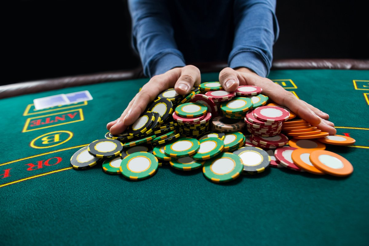 """Replay Poker on Twitter: """"All-in poker players getting you down? If you  encounter someone who repeatedly shoves all their chips into the pot, we  have some tips on how to handle the"""
