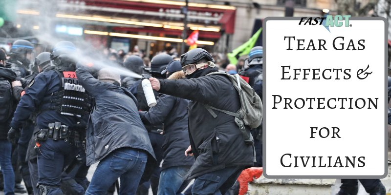 How dangerous can tear gas be to human health and what can be utilized to protect yourself from this chemicals agent?  Click the link below to learn more!  https://fast-act.com/tear-gas-effects-protection-for-civilians/ …  #teargas #riotcontrol #military #police #chemicalprotection #chemicaldecontamination #decon