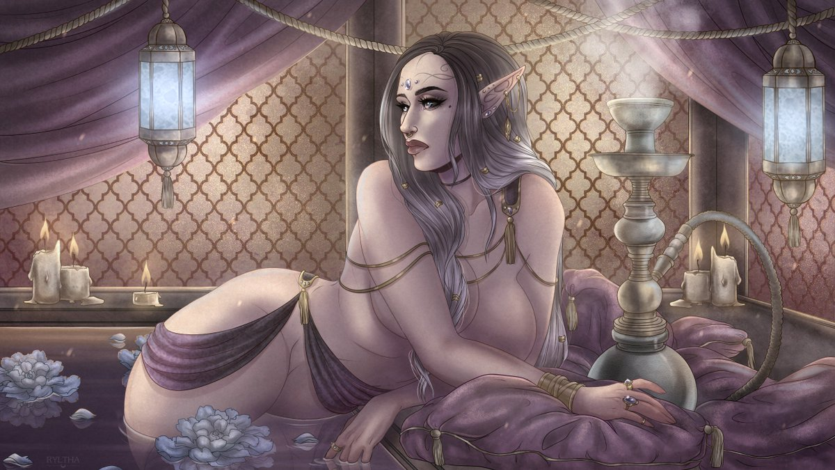 Think, that sexy elf fantasy art casually