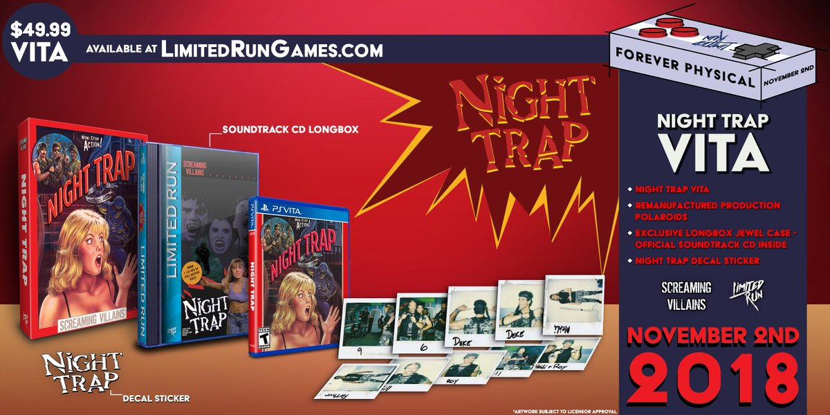 Limited Run Games on Twitter: