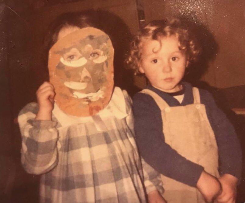 Halloween 1985. #halloweencostumes