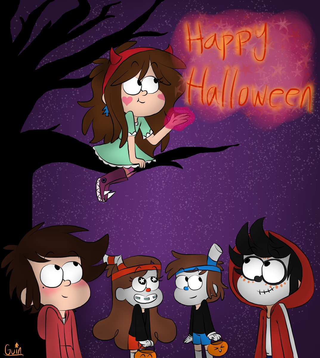 // #HappyHalloween Have a fun and safe time. And make your costumes shine! ^w^