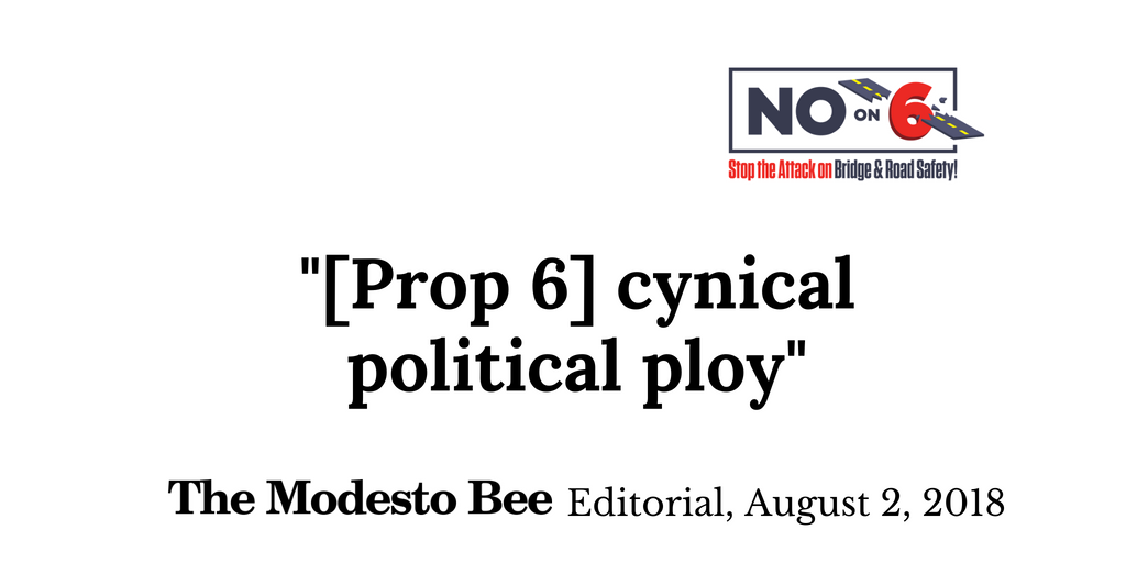 No Prop 6 on Twitter: