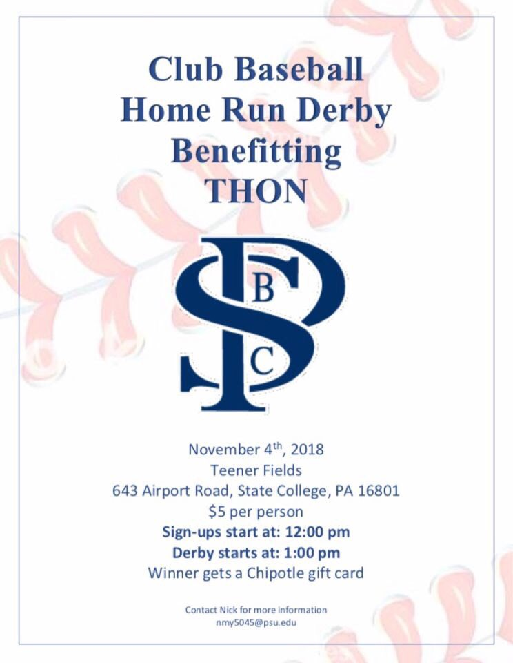 Penn State Club Baseball On Twitter Come Out And Support Thon