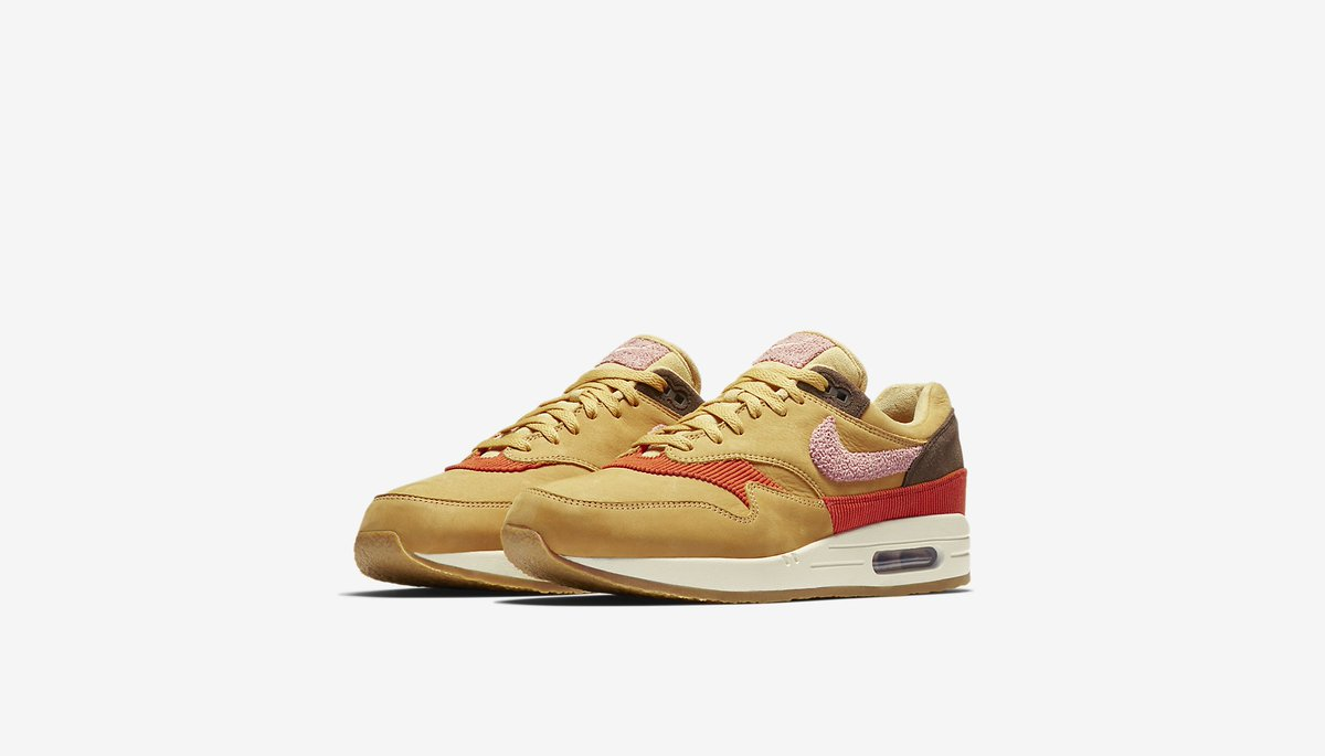 Nike Air Max 1 GS SP Women´s Shoes Liquid Gold 635786 770