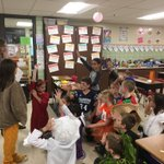 Image for the Tweet beginning: Halloween party fun in 4th