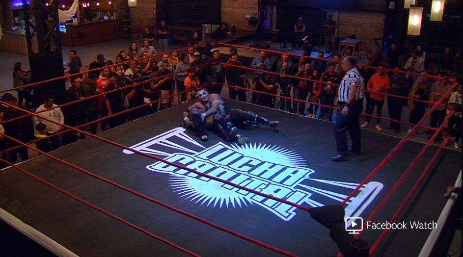 "AAA: Cartel para ""Lucha Capital - Episodio 2"" 4"