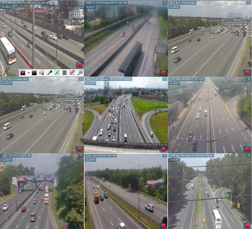 Traffic Update Balintawak Toll Plaza light traffic Mindanao Toll