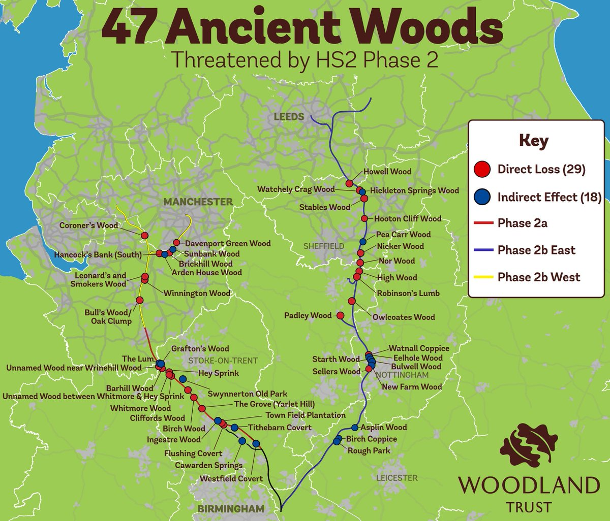Image result for protected woodlands uk map