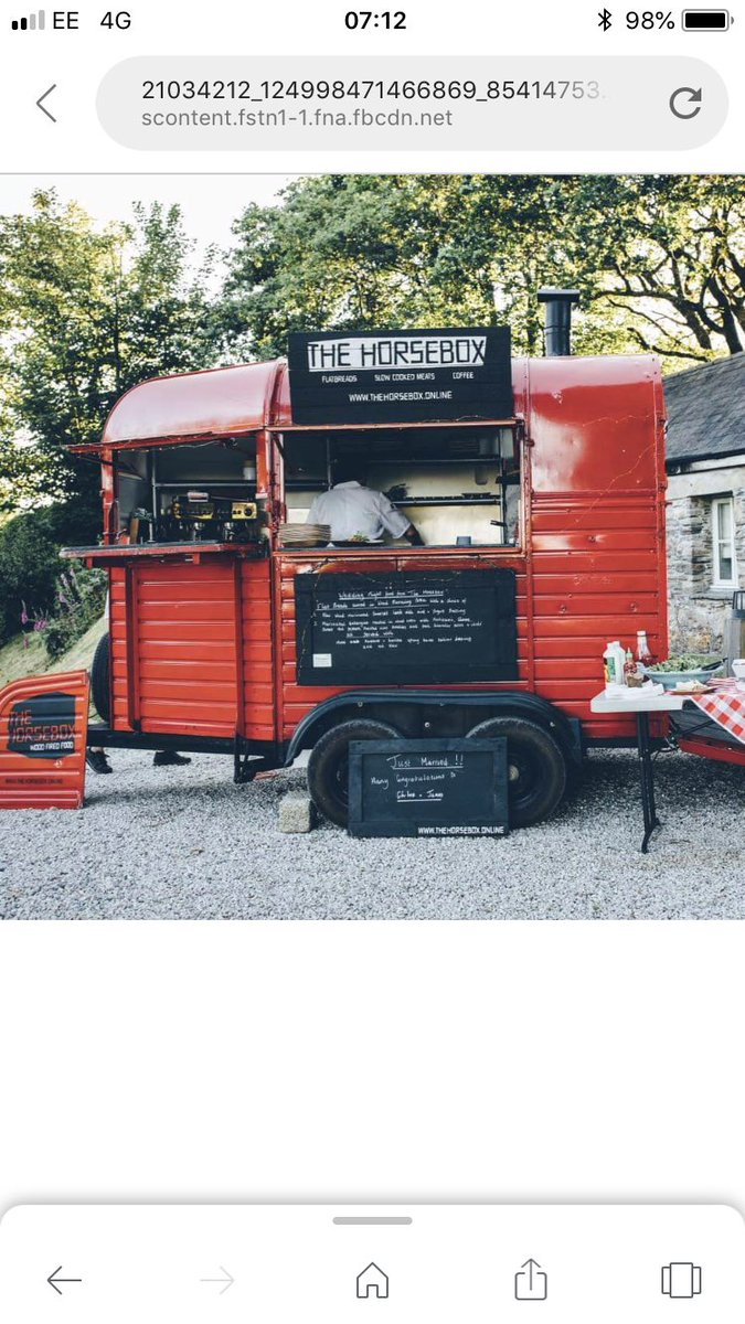Bwcyclinguk On Twitter The Horse Box Pizza Company Will Be