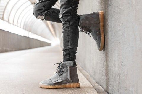 76687b39a0f UA ADIDAS YEEZY BOOST 750 LIGHT GREY GUM