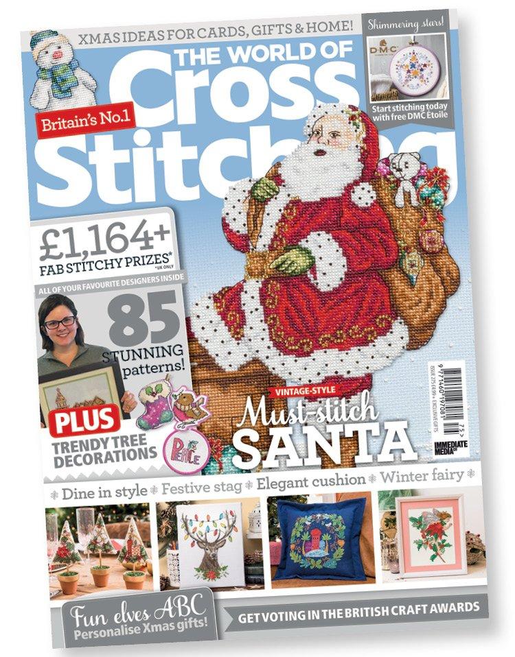Christmas 2020 Issue 275 The World Of Cross Stitching Magazine theworldofcrossstitching hashtag on Twitter