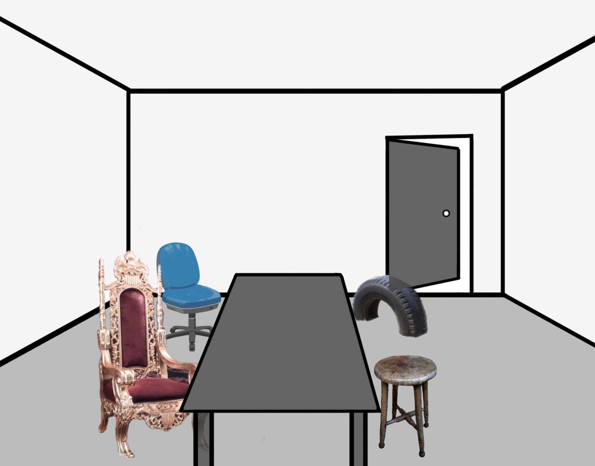 上座下座が一瞬で分かる部屋