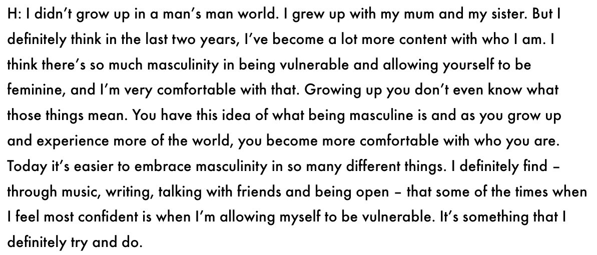 being vulnerable with a man