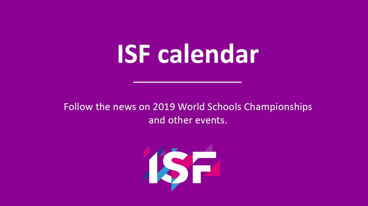 ISF Sports on Twitter: