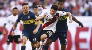 River Plate gano 2-0 al Boca Juniors Copa Libertadores Semifinal ida 2019