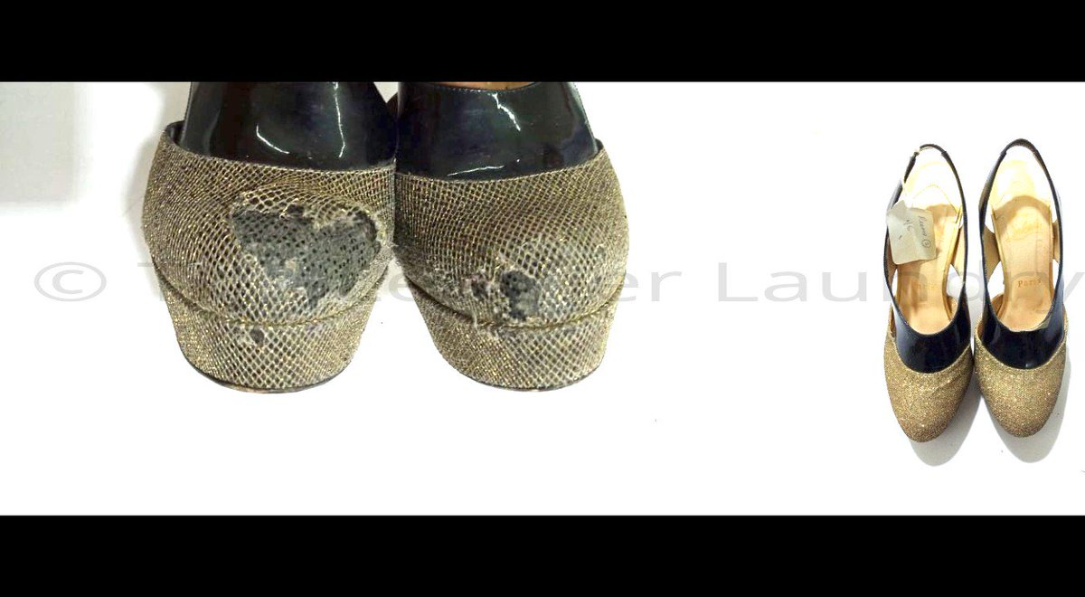 The Leather Laundry On Twitter Christian Louboutin Shoe Repair