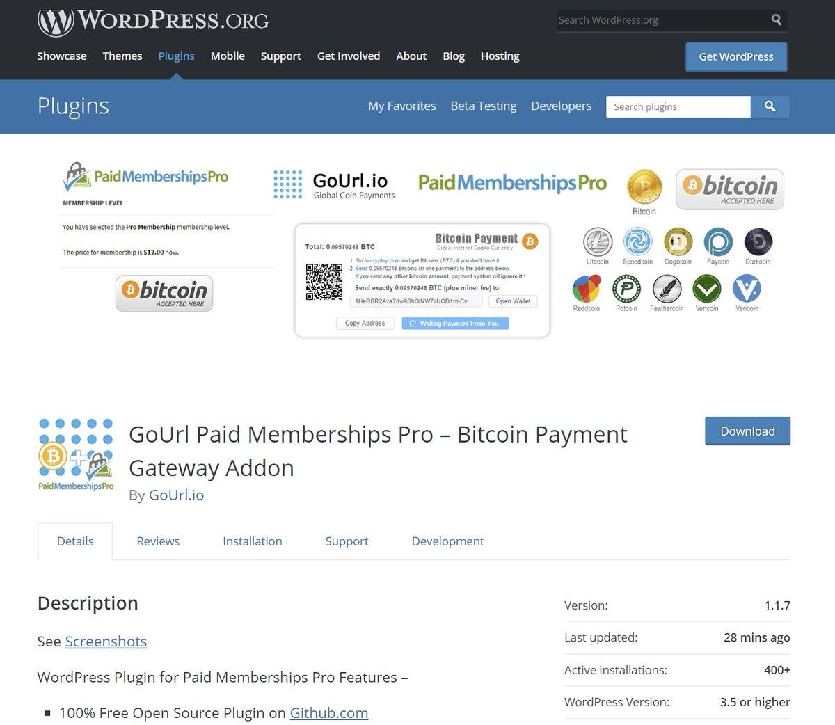 GoUrl BitcoinGateway (@CryptocoinAPI) | Twitter
