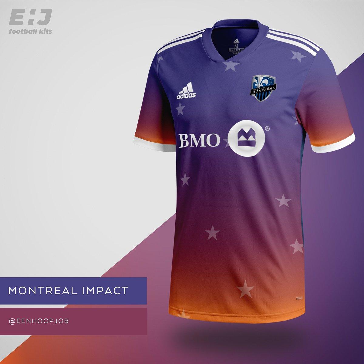 e991bf9cd Job - Eenhoopjob Football Kit Designs Montreal Impact    39 Montreal  39    montreal  montrealimpact  mls  soccer  adidas  adidassoccer adidasfootball  ...