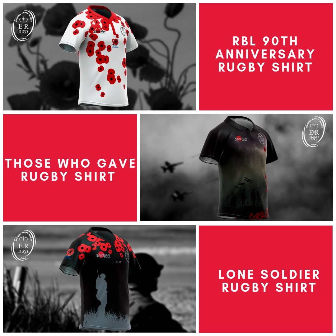 test Twitter Media - Our popular commemorative shirts are back in stock as we, along with the @armyrugbyunion are commemorating 100 years since the WW1 Armistice ceasefire. Get your remembrance shirts here>>https://t.co/tOZIhp7NxX   We would like to say #ThankYou100   #londonpoppyday @PoppyLegion https://t.co/wwJ9mvVe56
