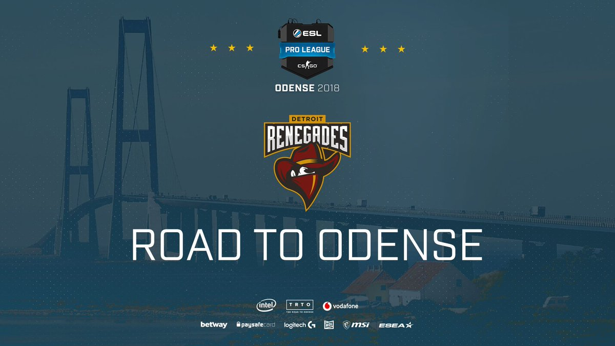 🇦🇺+🇳🇿 + 🇳🇴 in 🇺🇸 = 🇩🇰   We have a hunch about who @SPUNJ will be supporting at the #ESLProLeague Season 8 Finals... Congratulations @renegades on securing your spot!  🎟http://esl.gg/Odense18