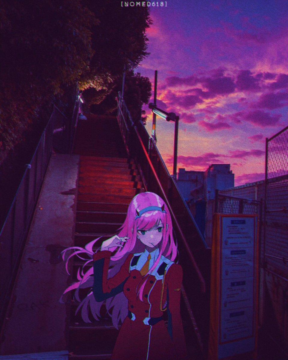 Aesthetic Anime Background Kesho Wazo