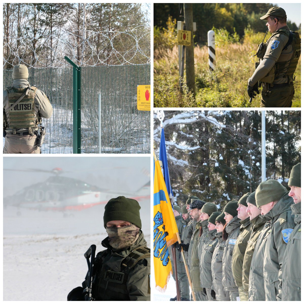 562a62b4c65 Methods and equipment are much better than in the beginning, but the goal  is same. Border Guard officer is the eyes and ears of the country, ...