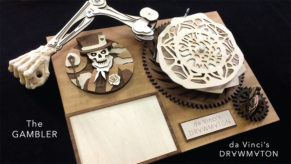 Elektra Manager On Twitter A Incredible Wooden Robot That Draws