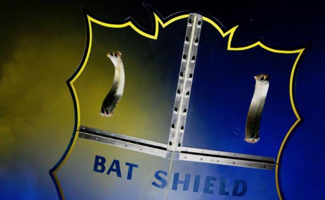 Bátima, de onde você tirou esse bat-escudo, hein?