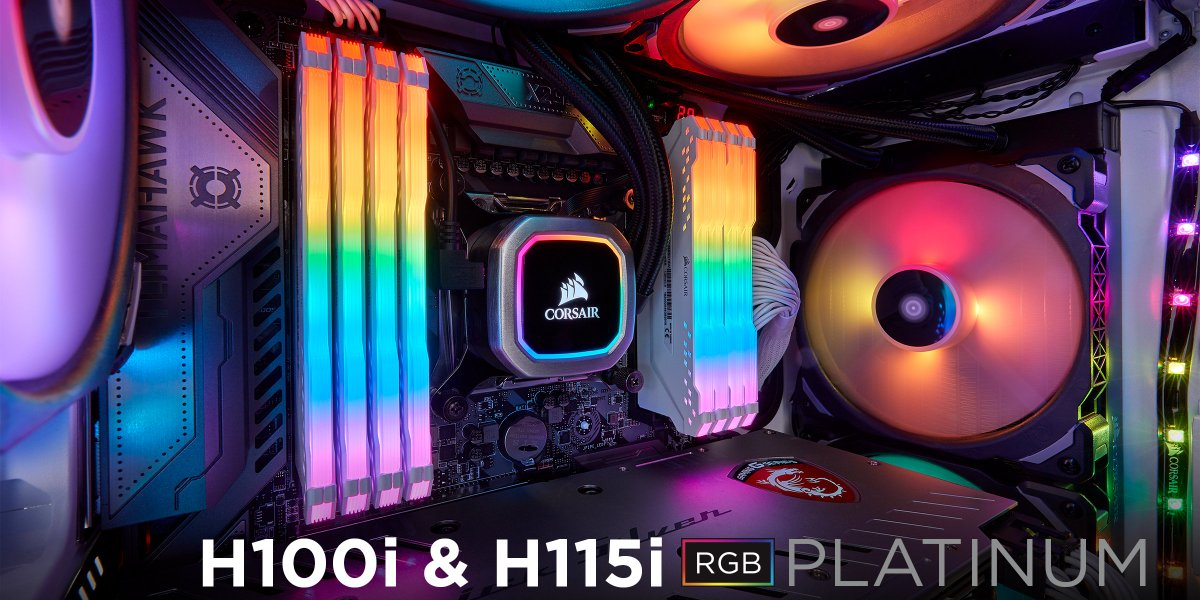 Corsair On Twitter Looks Chiller Performance Our Newest Is An All In One Liquid Cpu Coolers With Rgb Lighting That S Built For Extreme