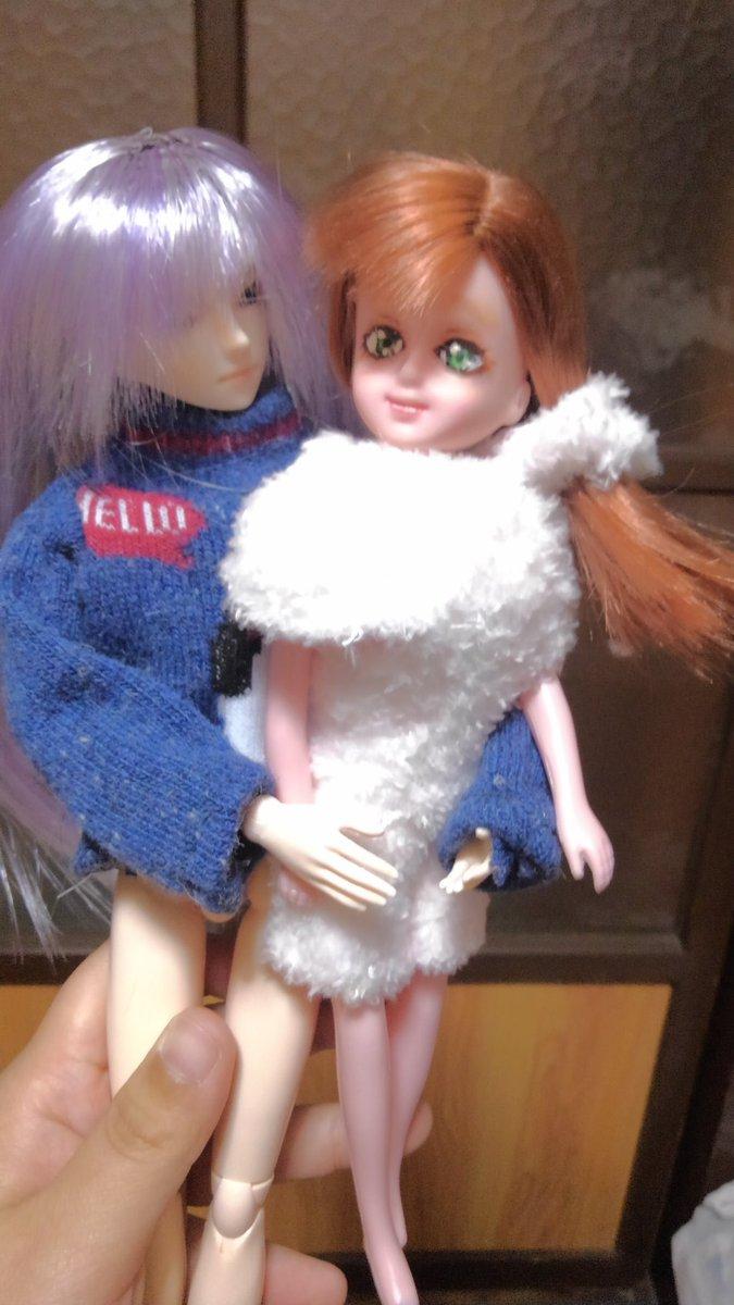 test ツイッターメディア - #ダイソー #オビツ27 #ドール 靴下で作ったセーターと手袋で作ったルームウェアのうちの子です https://t.co/DhYUy3ZWsn