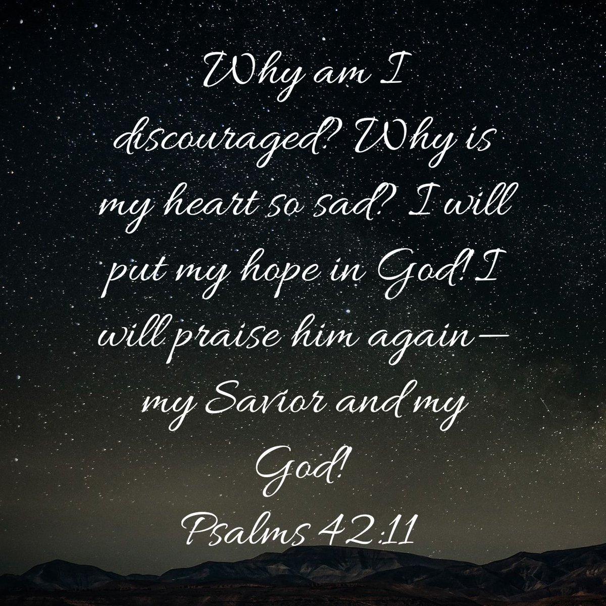 Heart sad my is 5 Psalms