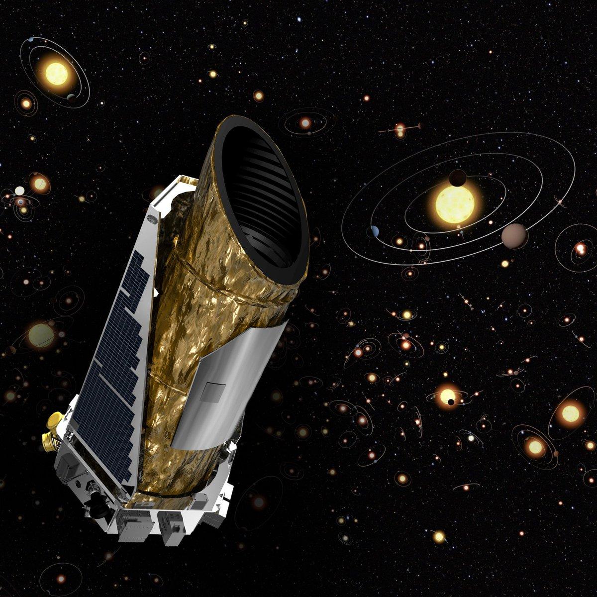 kepler spacecraft feature - HD1200×1200