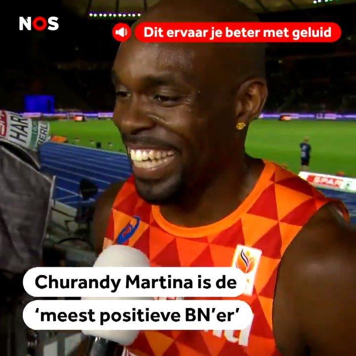 Churandy Martina: Meest positieve BN'er